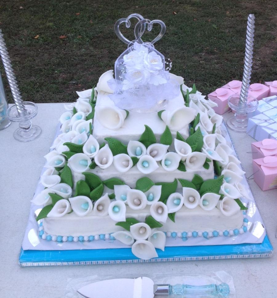 Calla Lily Cakes Wedding