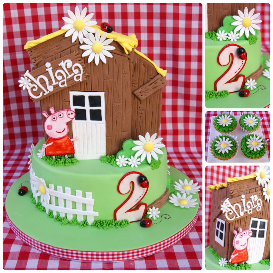 Peppa Pig Farm Cake on Cake Central