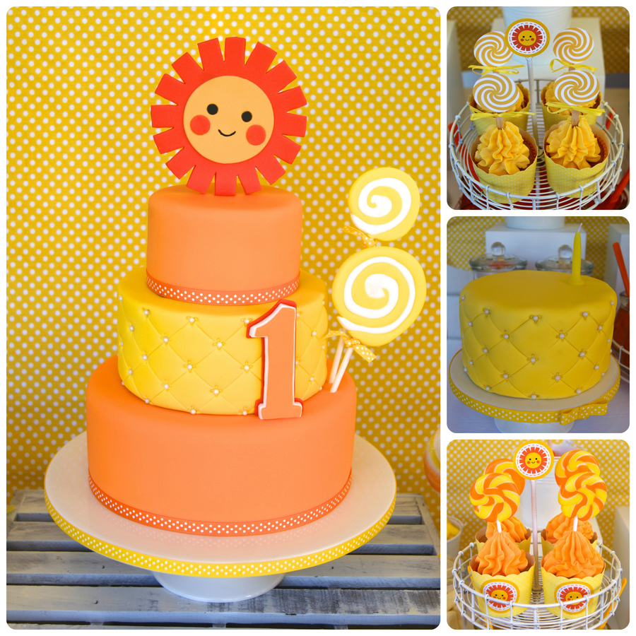 Sunshine And Lollipops on Cake Central