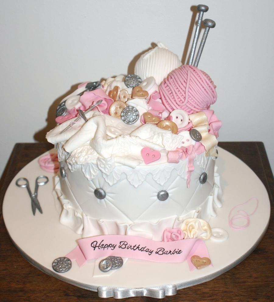 Vintage Sewing Basket Cakecentral Com