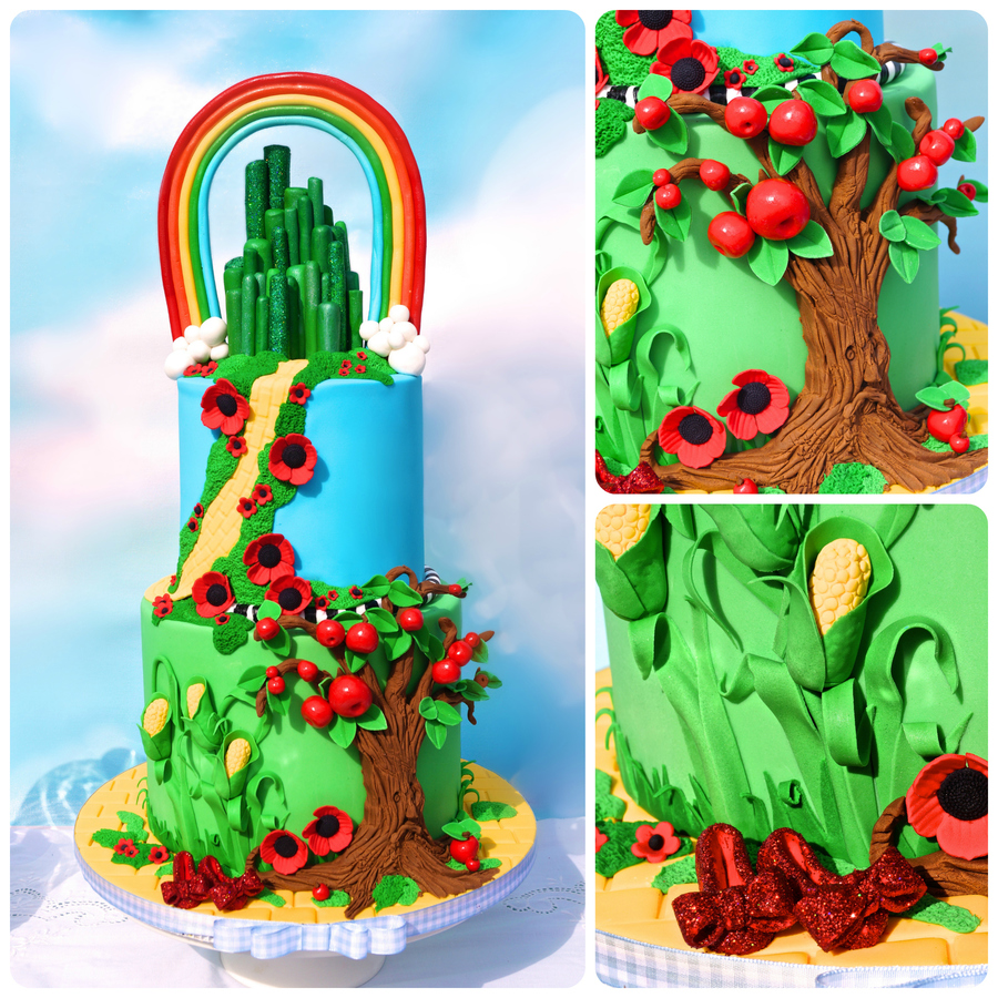 Wizard Of Oz on Cake Central