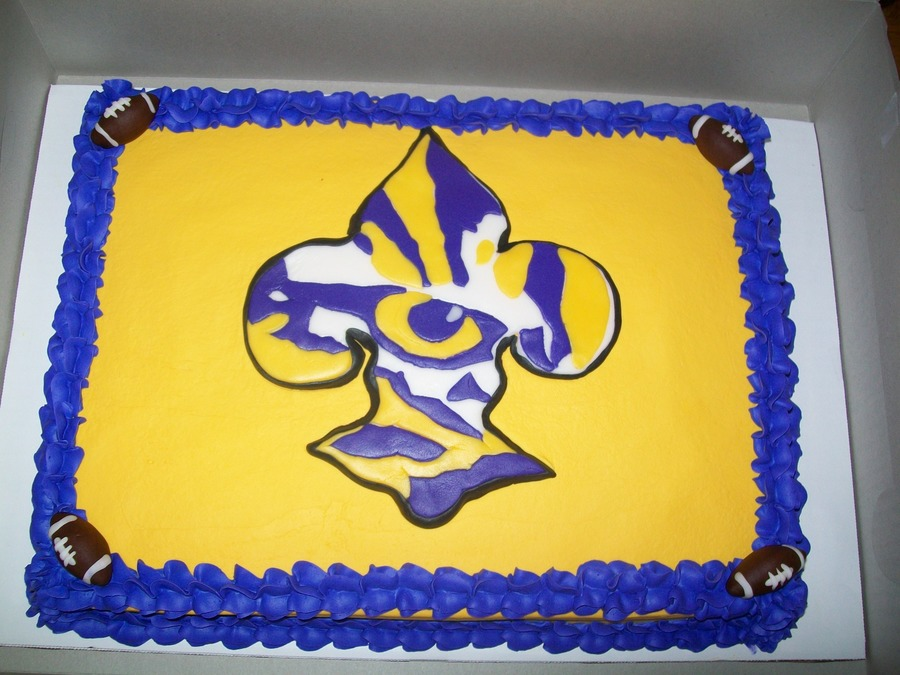Lsu on Cake Central