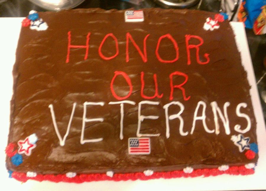 Veterans Day on Cake Central