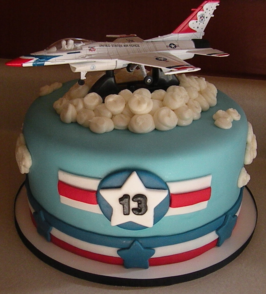 Images Fighter Jet Cake