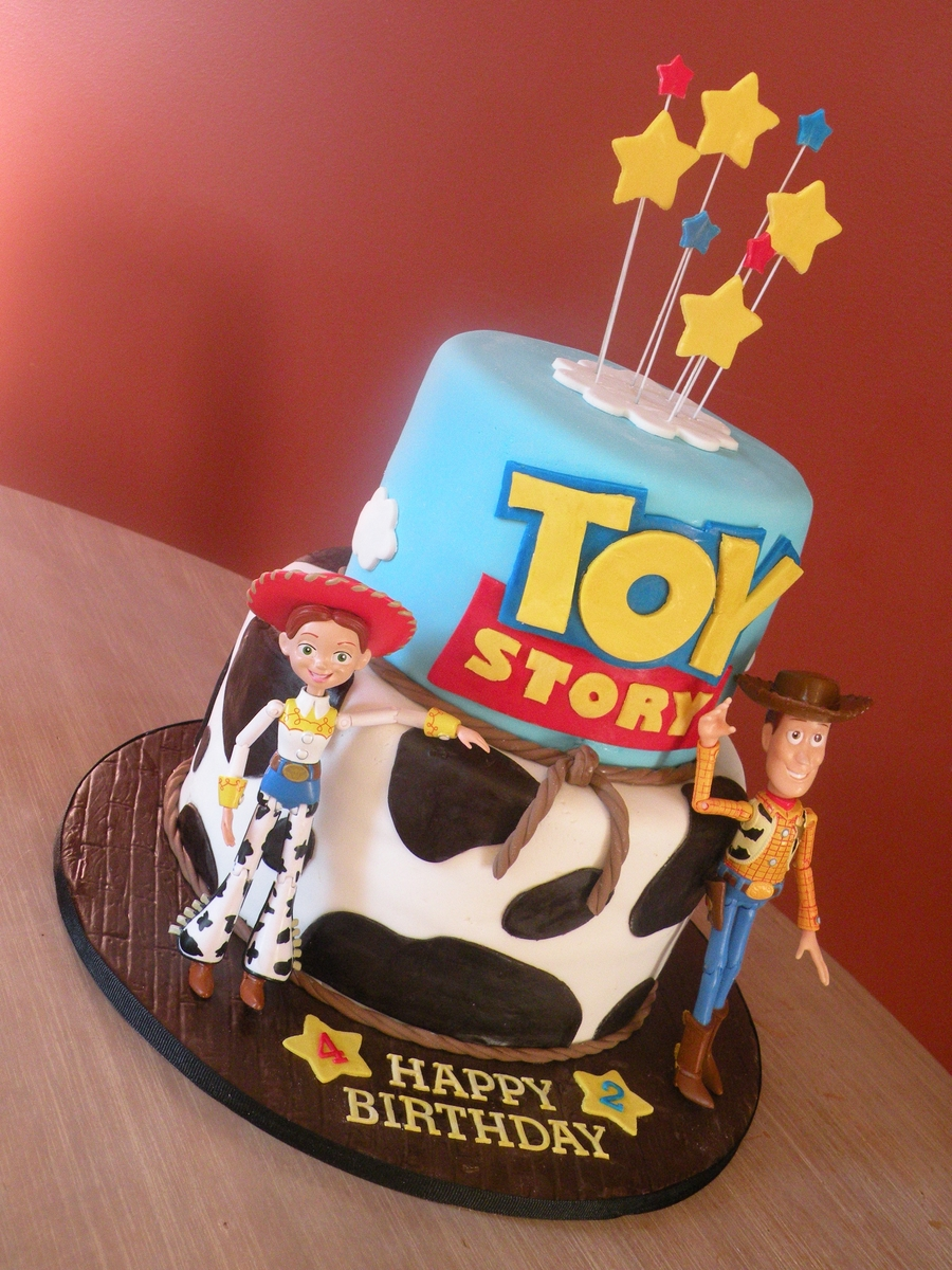 Toy Story Woody Cake Ideas