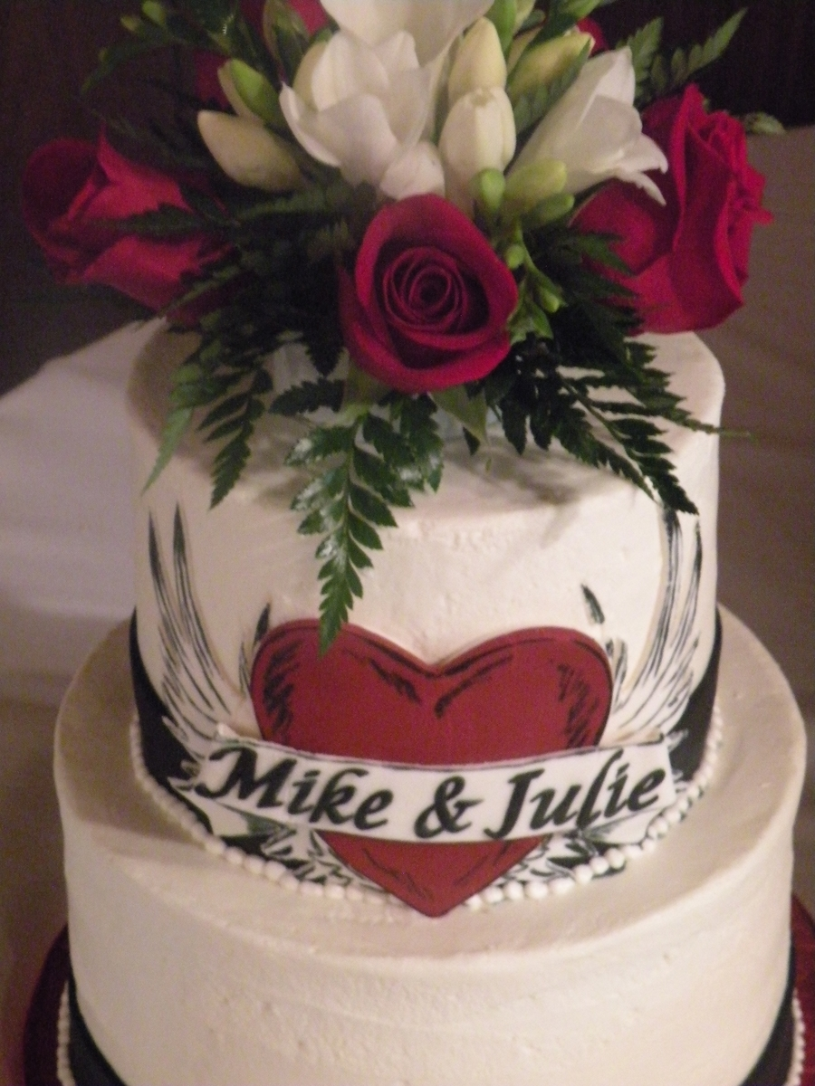 tattoo wedding cake quot quot wedding cake cakecentral 20764