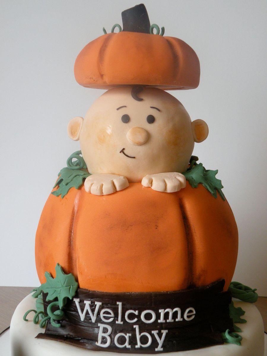 Pumpkin Themed Baby Shower Cakecentral Com