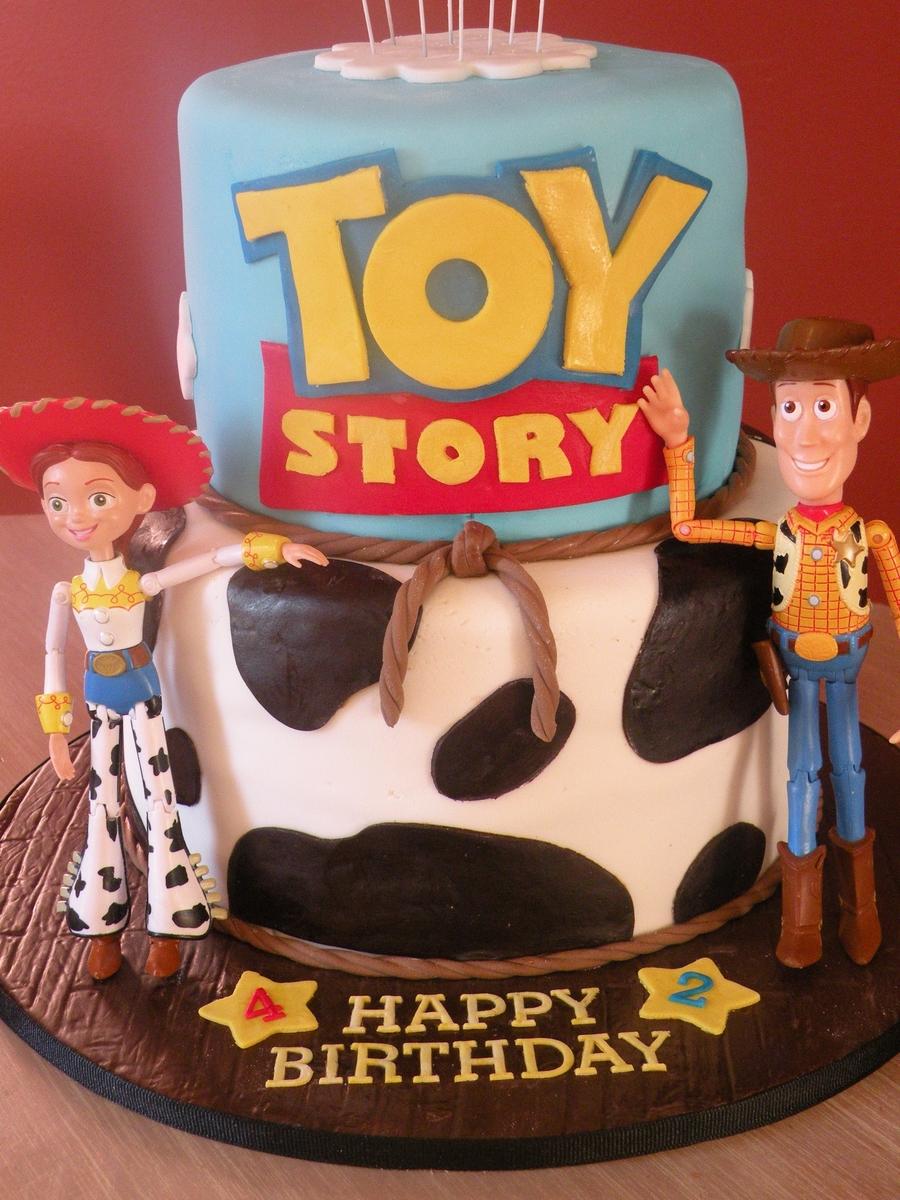Simple Toy Story Birthday Cake