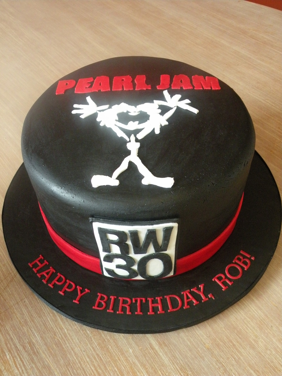 Pearl Jam Birthday on Cake Central