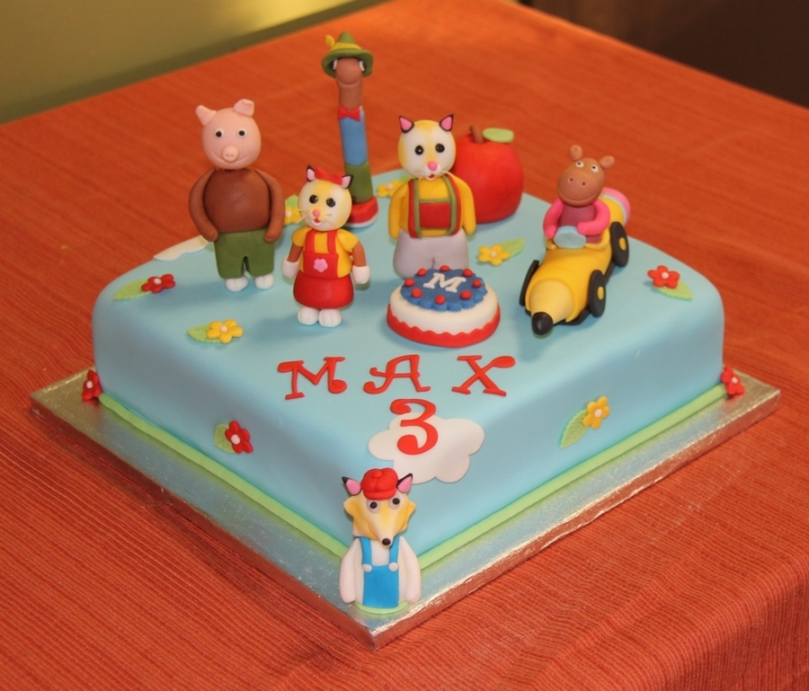 Busytown Mysteries on Cake Central