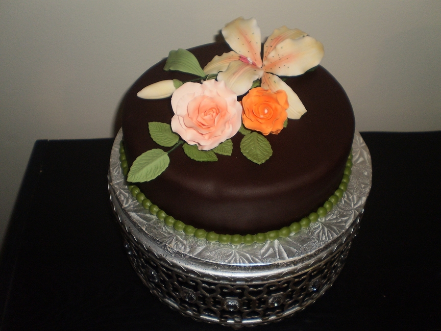Lily And Roses on Cake Central