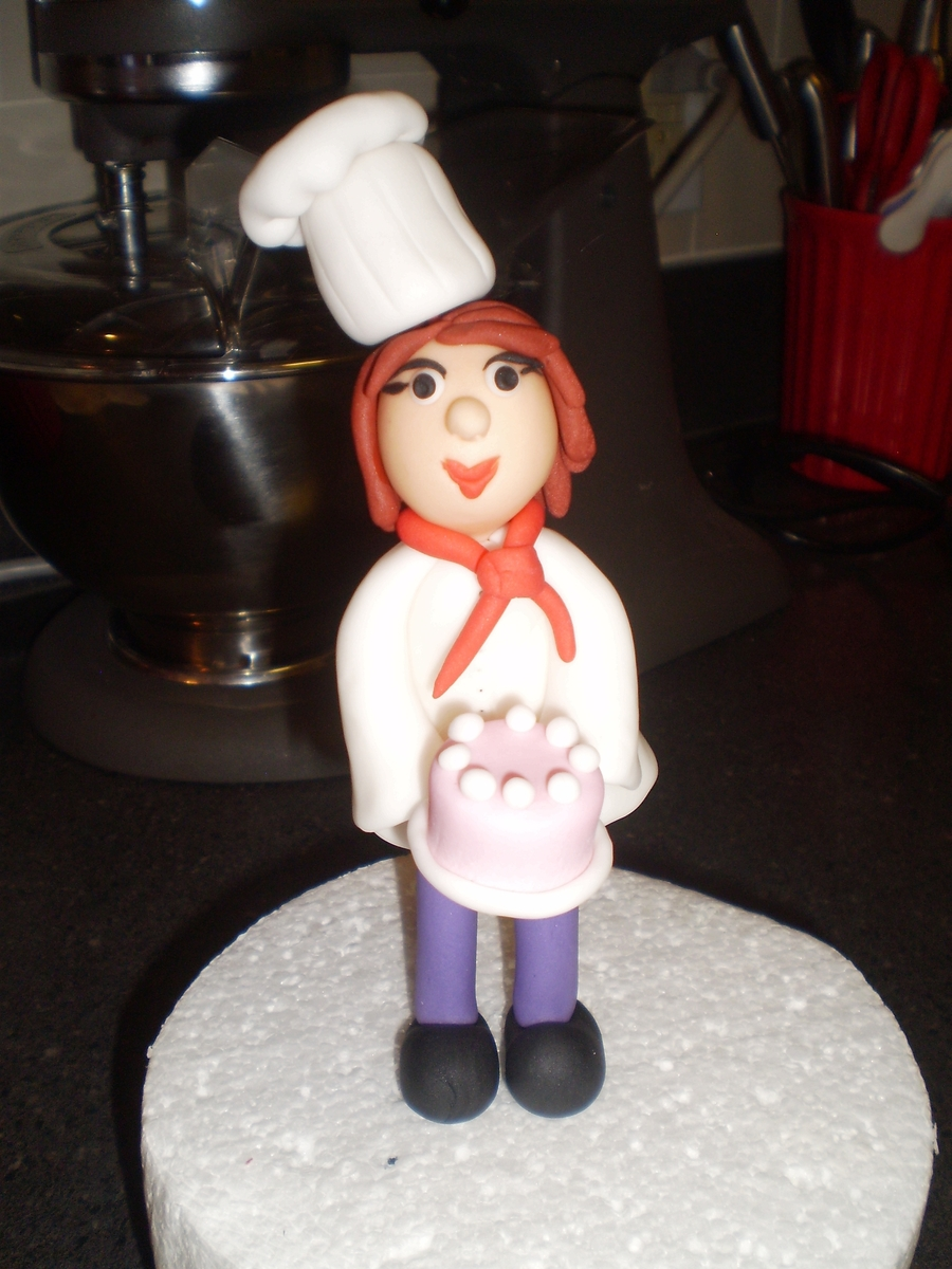 Autoportrait  on Cake Central