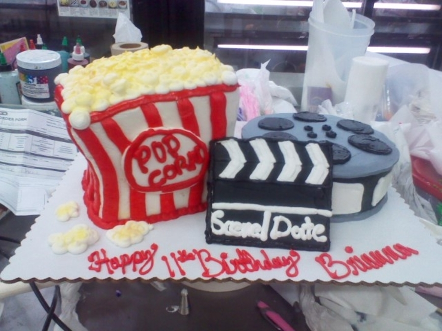 Movie Time on Cake Central
