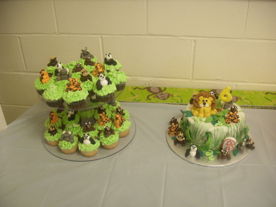 Jungle Terry Theme on Cake Central