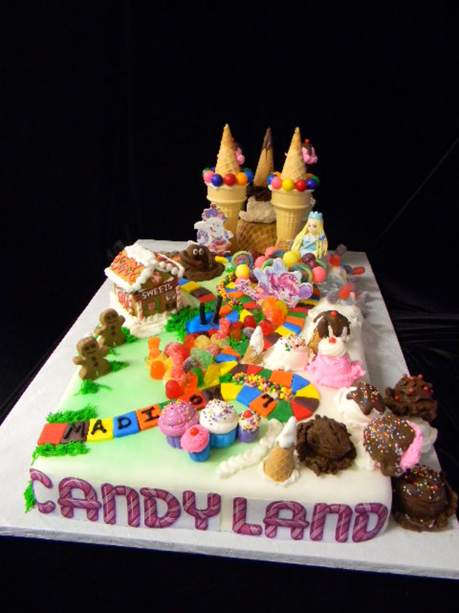 2011 Candy Land Themed Cake on Cake Central