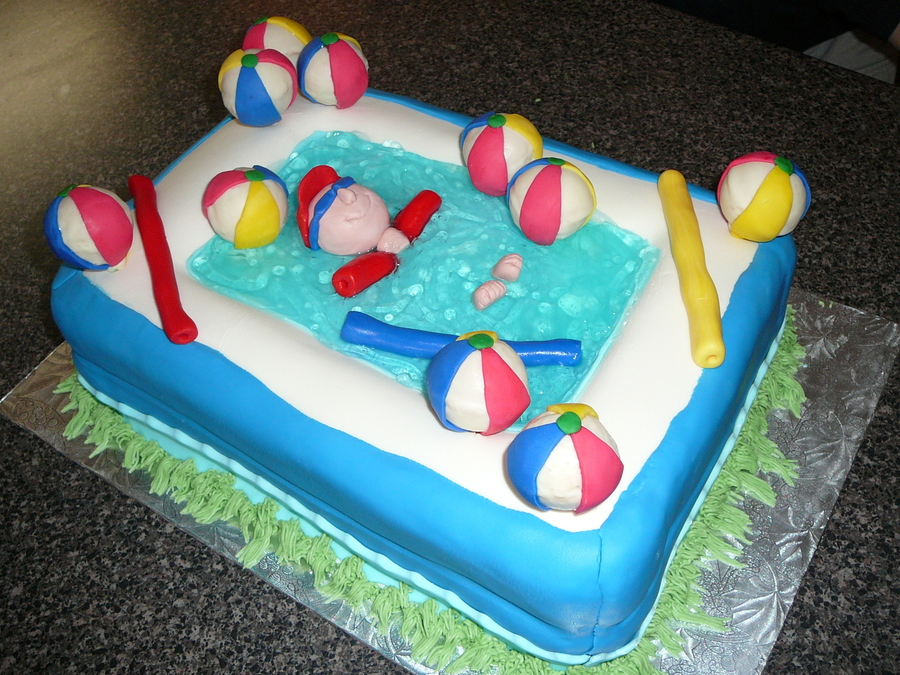 Pool Noodle on Cake Central