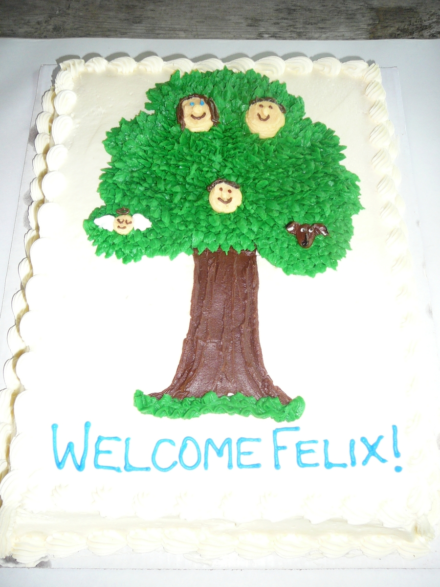 Adoption Finalization Family Tree on Cake Central