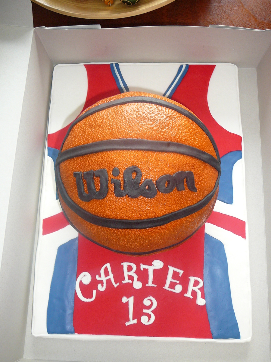 Basketball on Cake Central