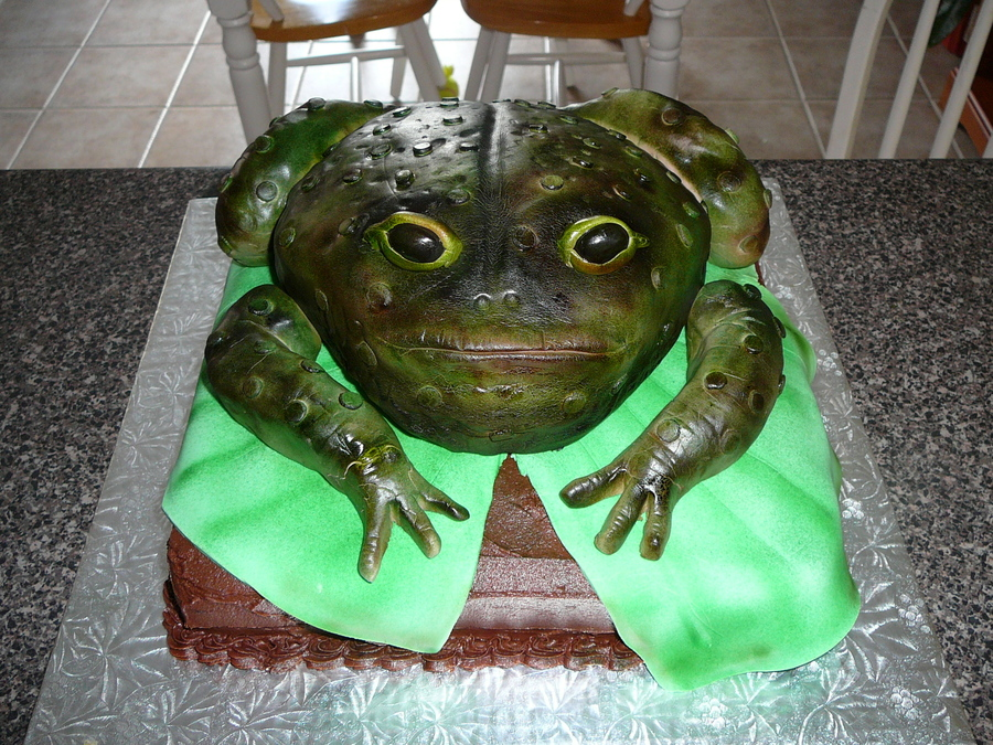 Toad Birthday Cake on Cake Central