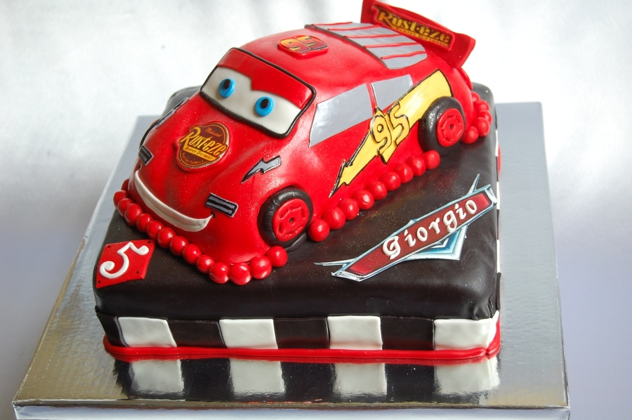 Disney Pixar Cars Cake on Cake Central