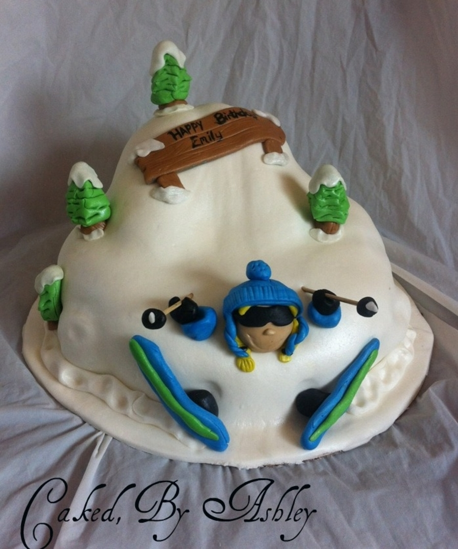Snowboard Cake Decorations