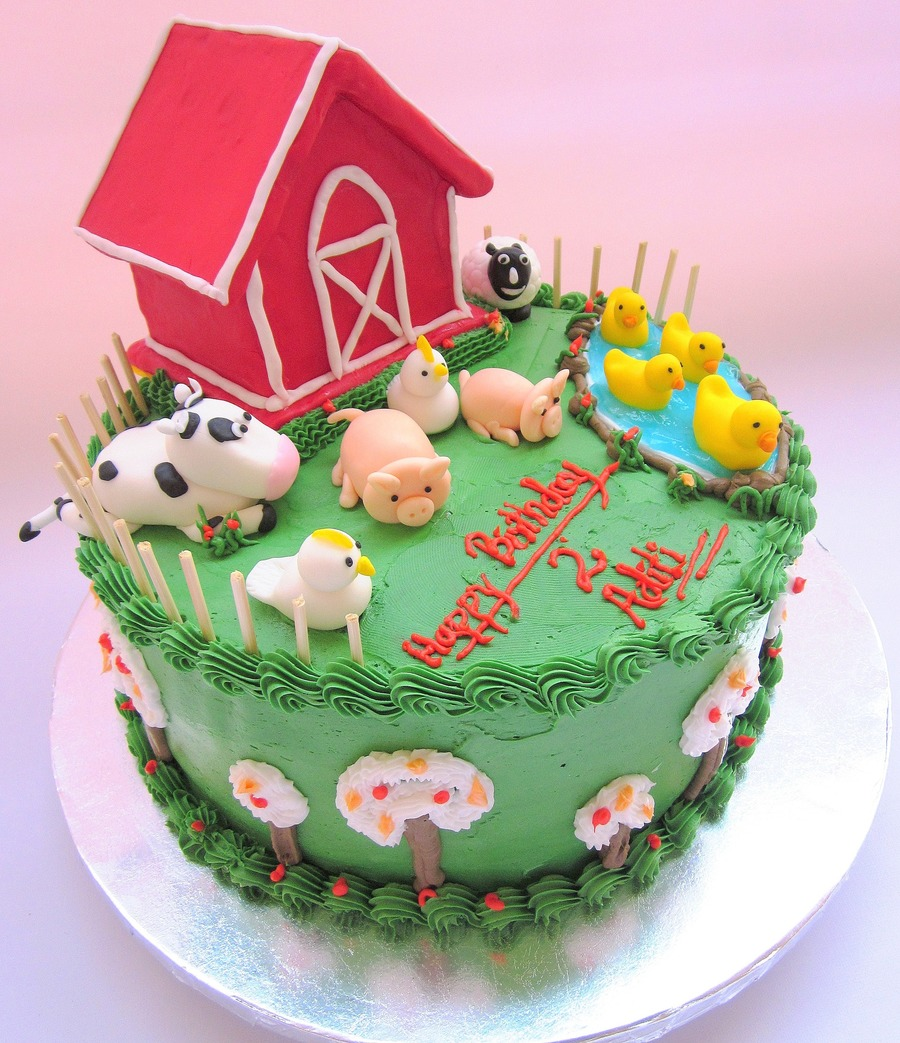 Old Mcdonald Had A Farm Cakecentral Com