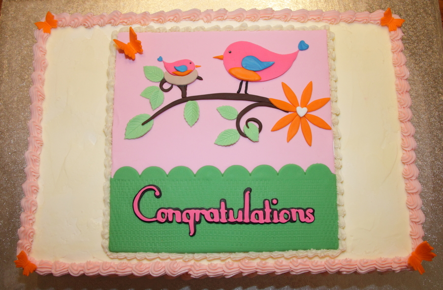 Baby Shower Cake For Riley Arrival on Cake Central