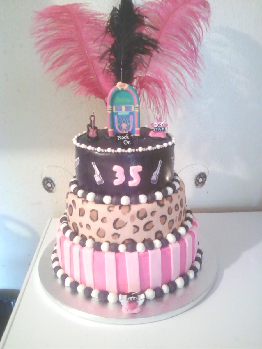 Swell Cassandras 35Th Birthday Cake Cakecentral Com Personalised Birthday Cards Sponlily Jamesorg