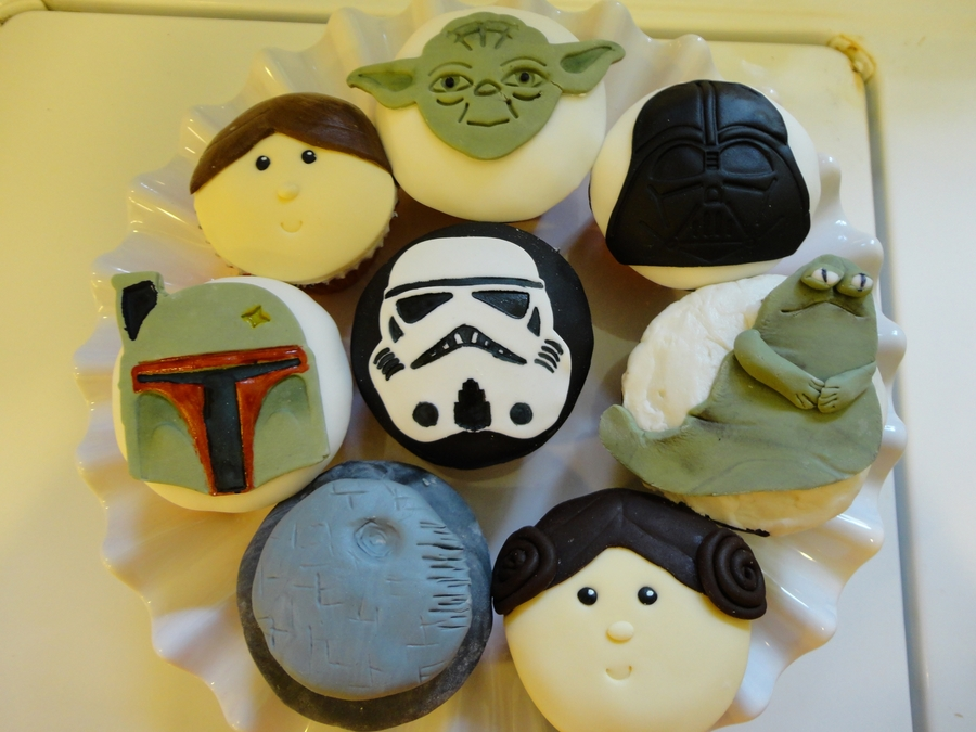 Star Wars Cupcakes on Cake Central