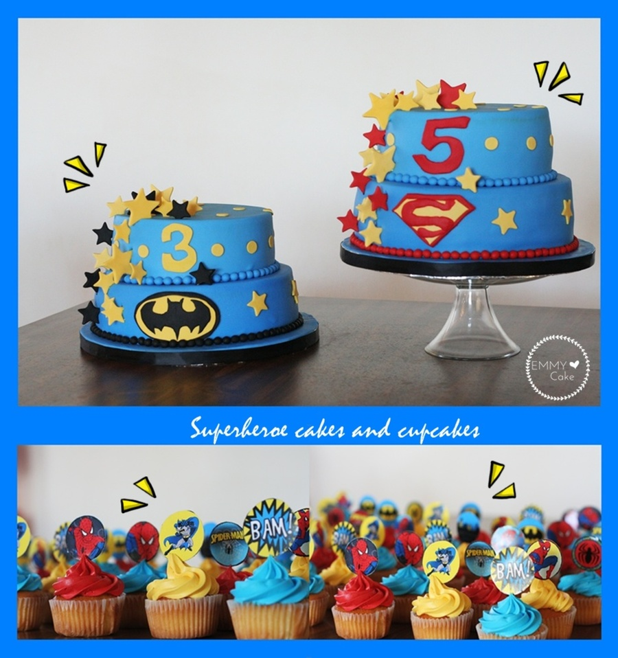 Superheroe Cakes on Cake Central