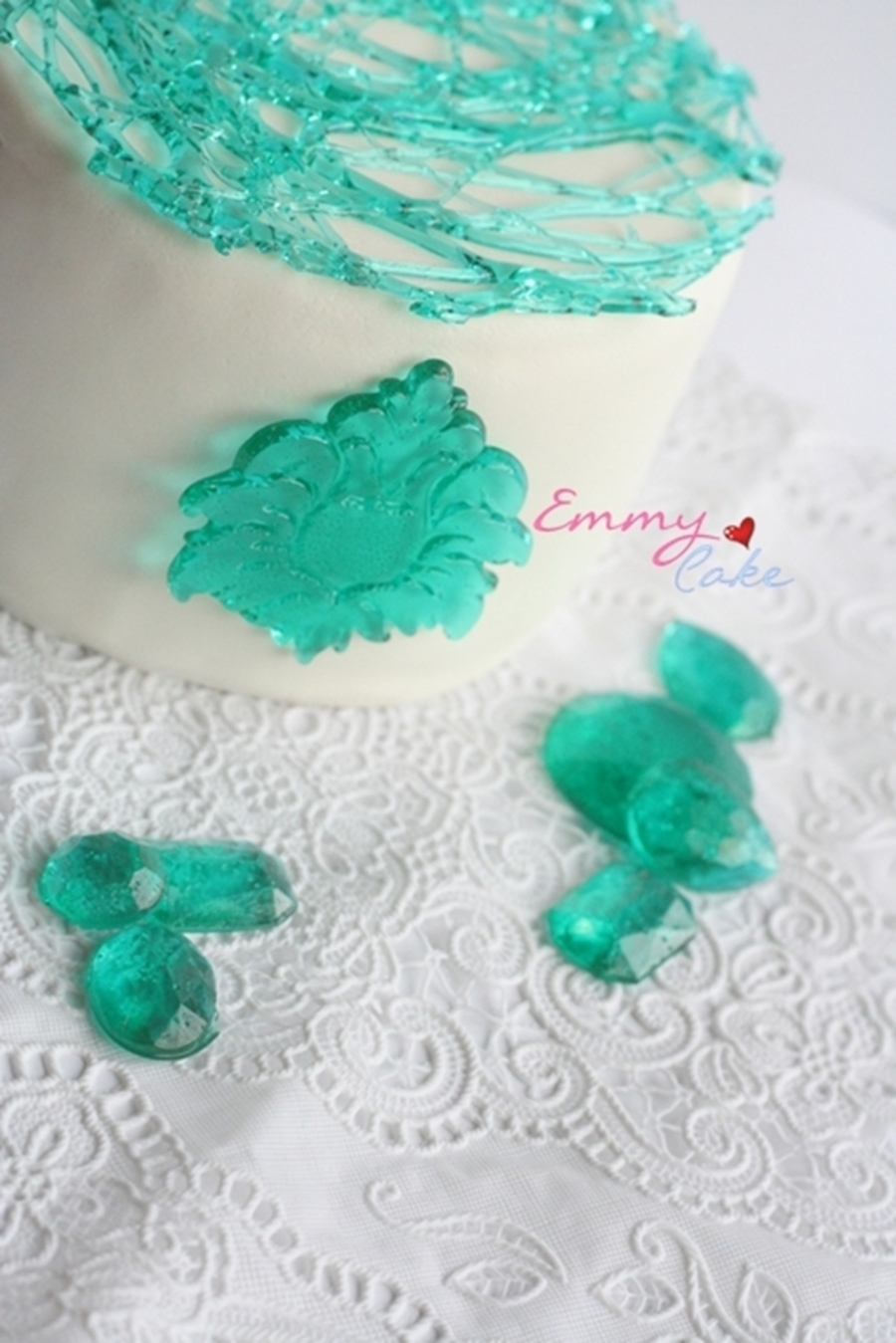 Glass Cake on Cake Central