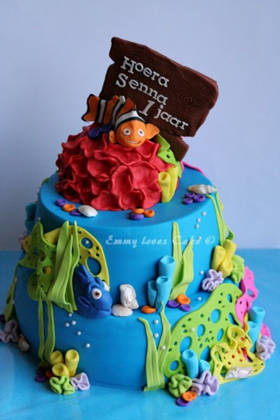 Finding Nemo Cake on Cake Central