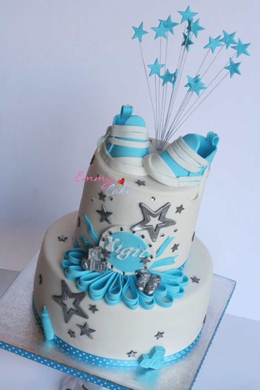 Babyshower Shoes  on Cake Central