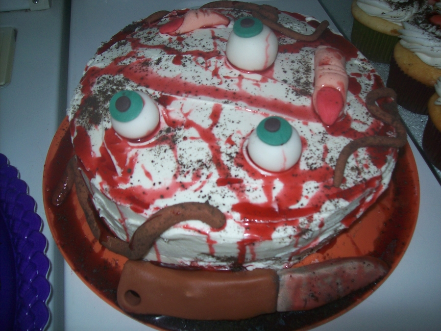 Halloween Horror Cake on Cake Central