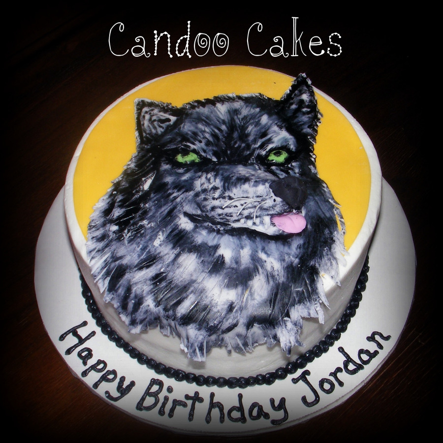 Howling At The Moon... - CakeCentral.com