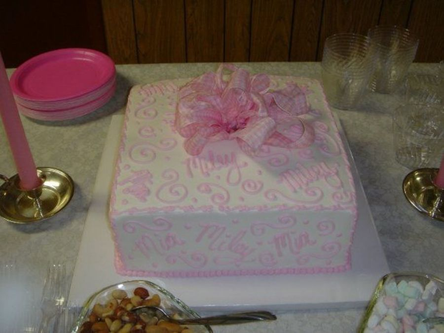 Twins Baby Shower Gift  on Cake Central