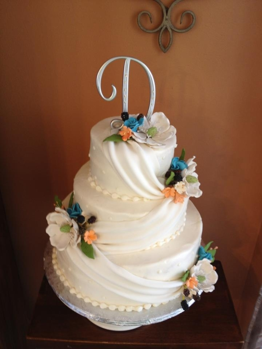 Southern Wedding Cake  on Cake Central