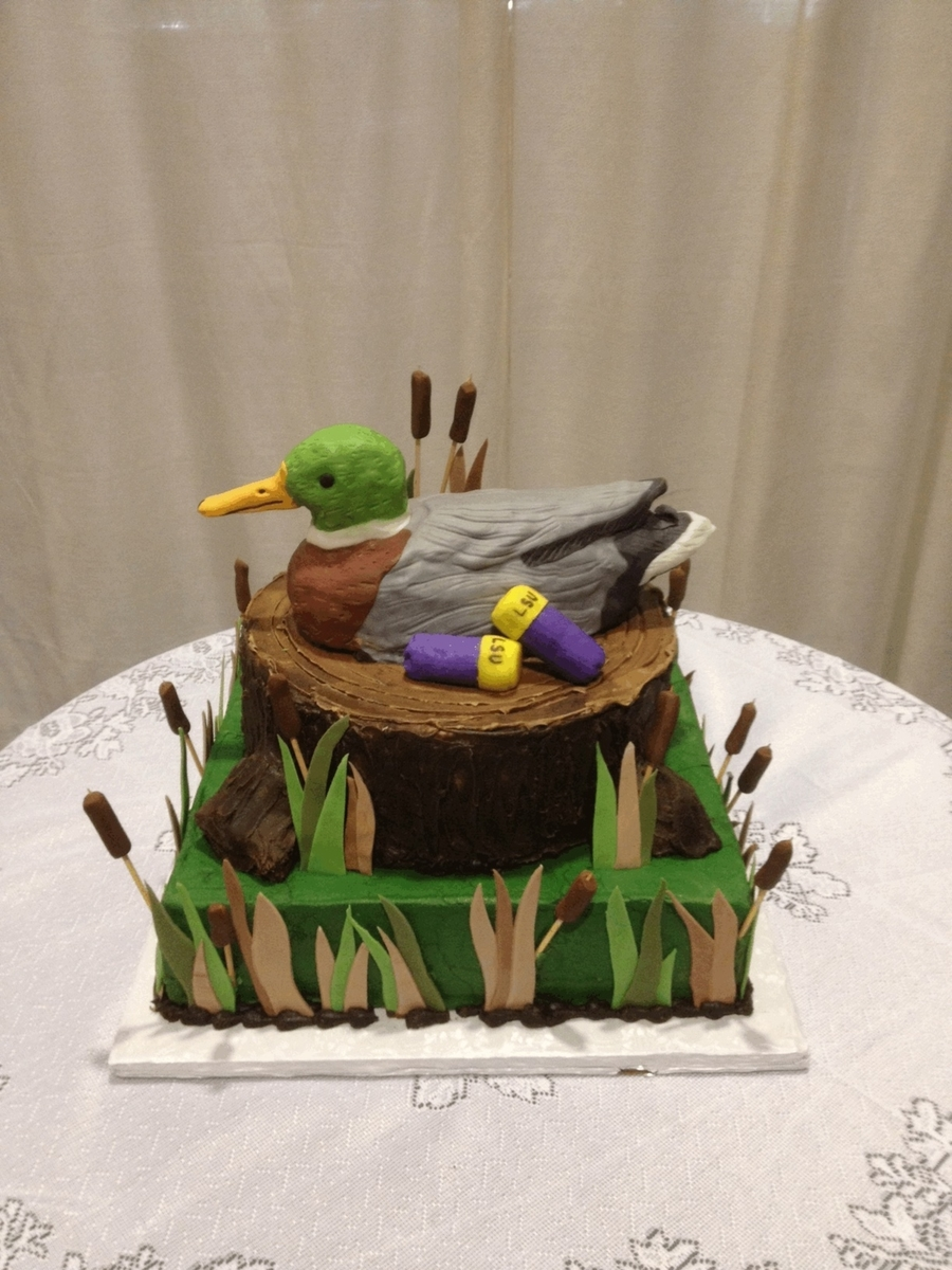 Hunting Themed Cake Decorations