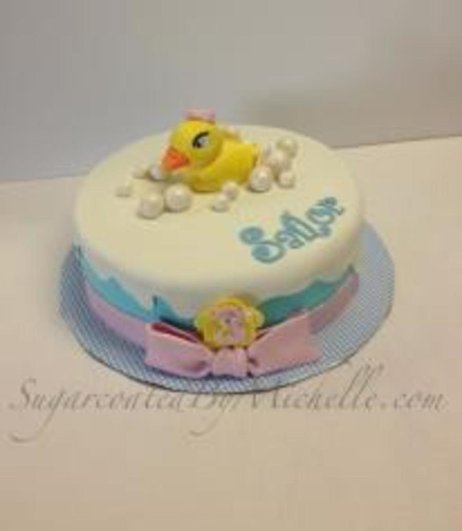 Rubber Duck  on Cake Central