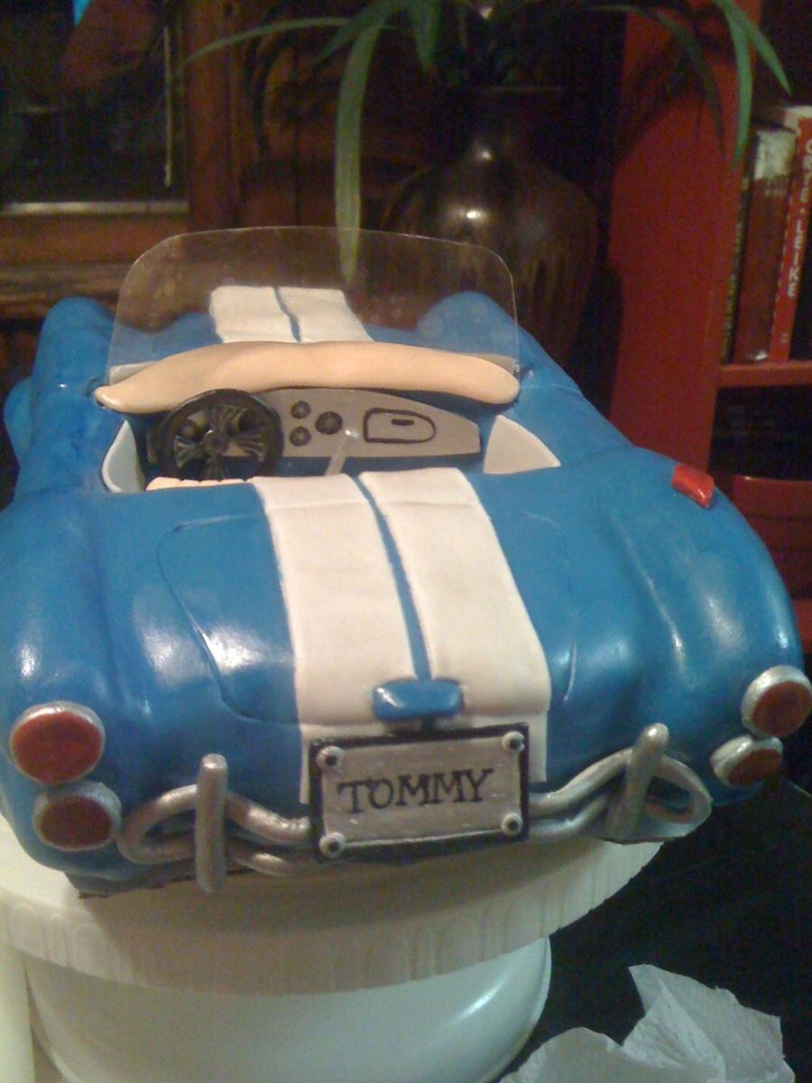 Shelby Cobra Birthday Cake CakeCentralcom