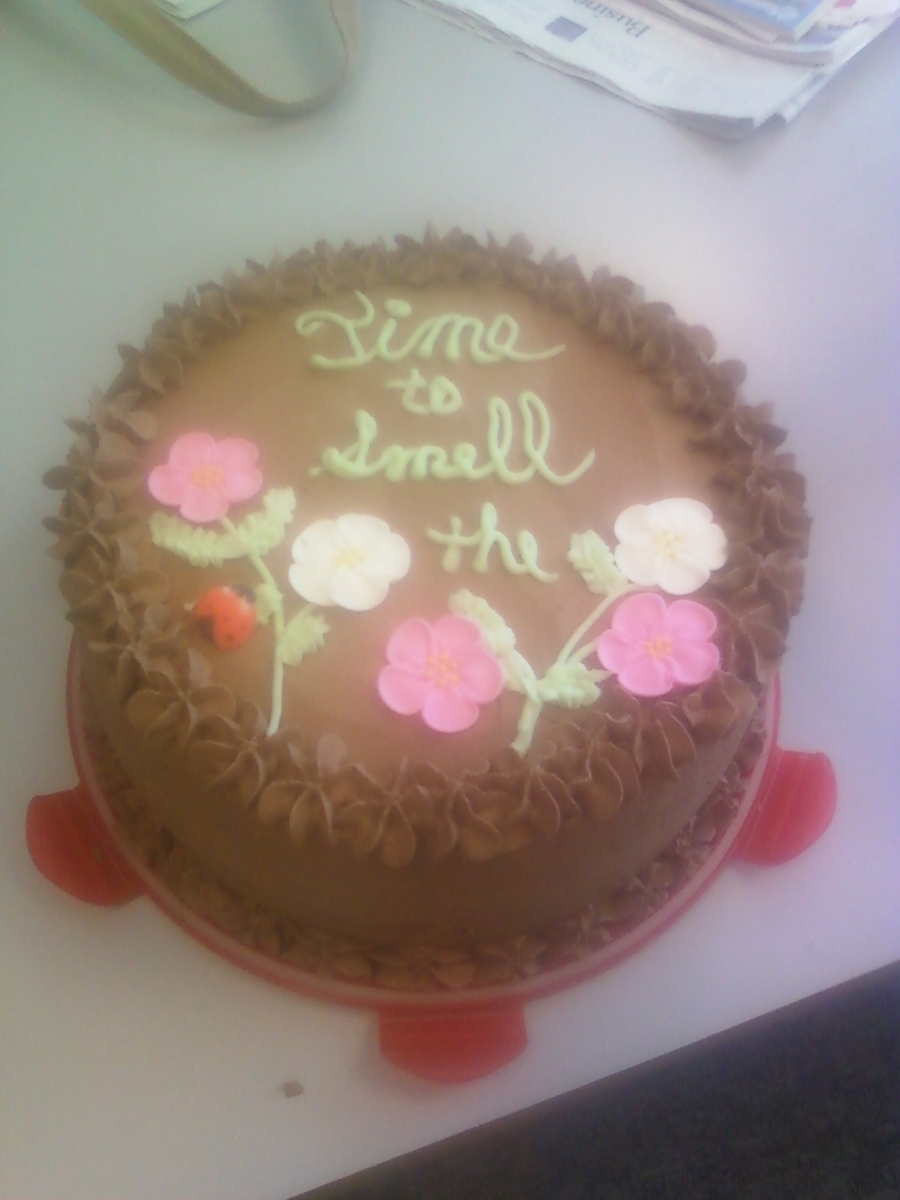 Take Time To Smell The Flowers... on Cake Central