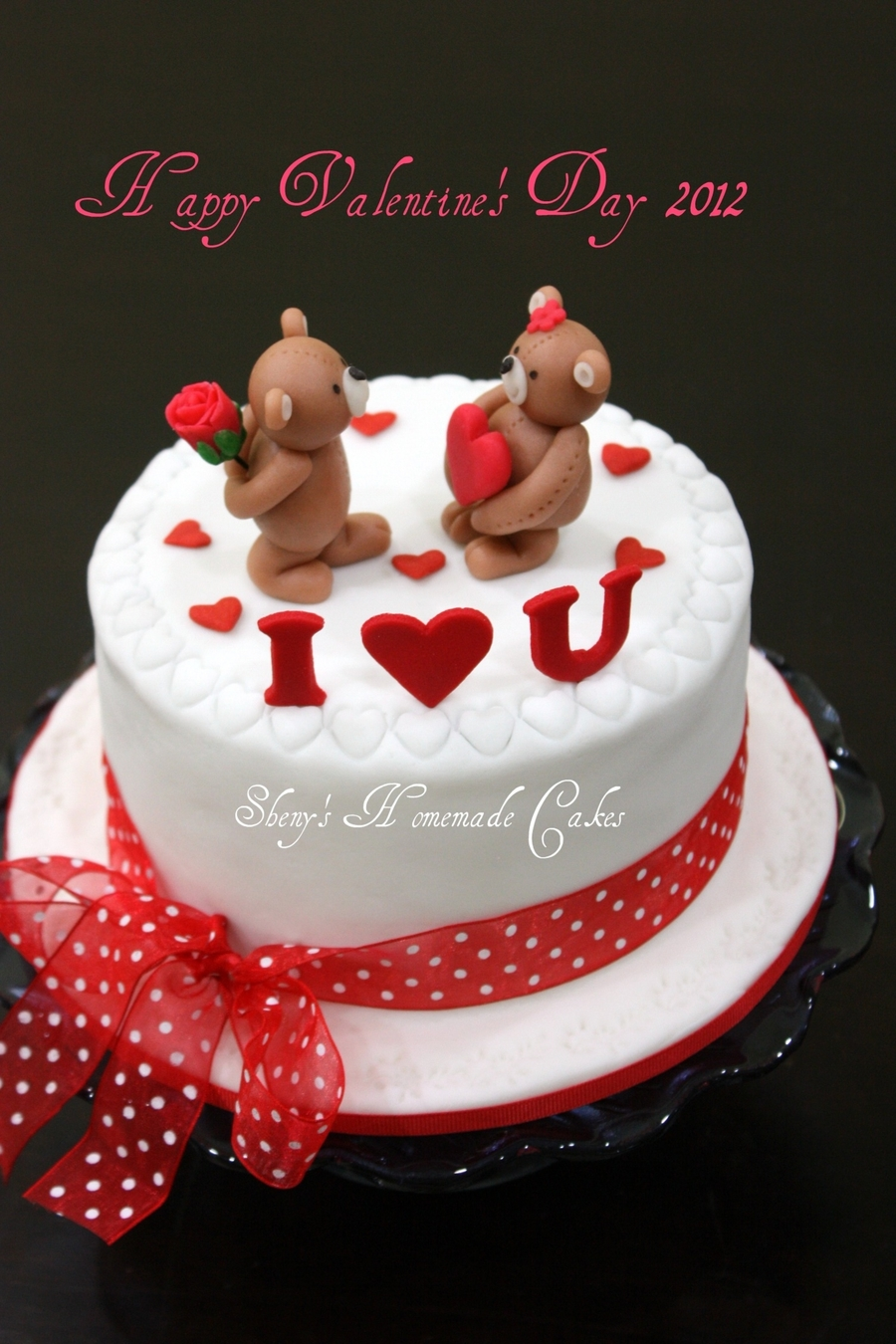 Valentine S Day Cake Decorating