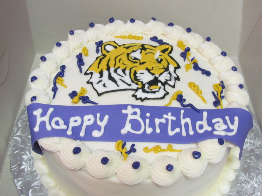 Lsu Cake on Cake Central