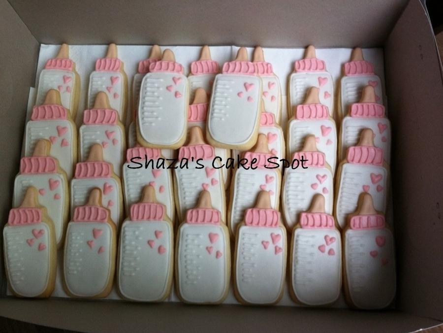 Baby Bottle Cookies Cakecentral Com