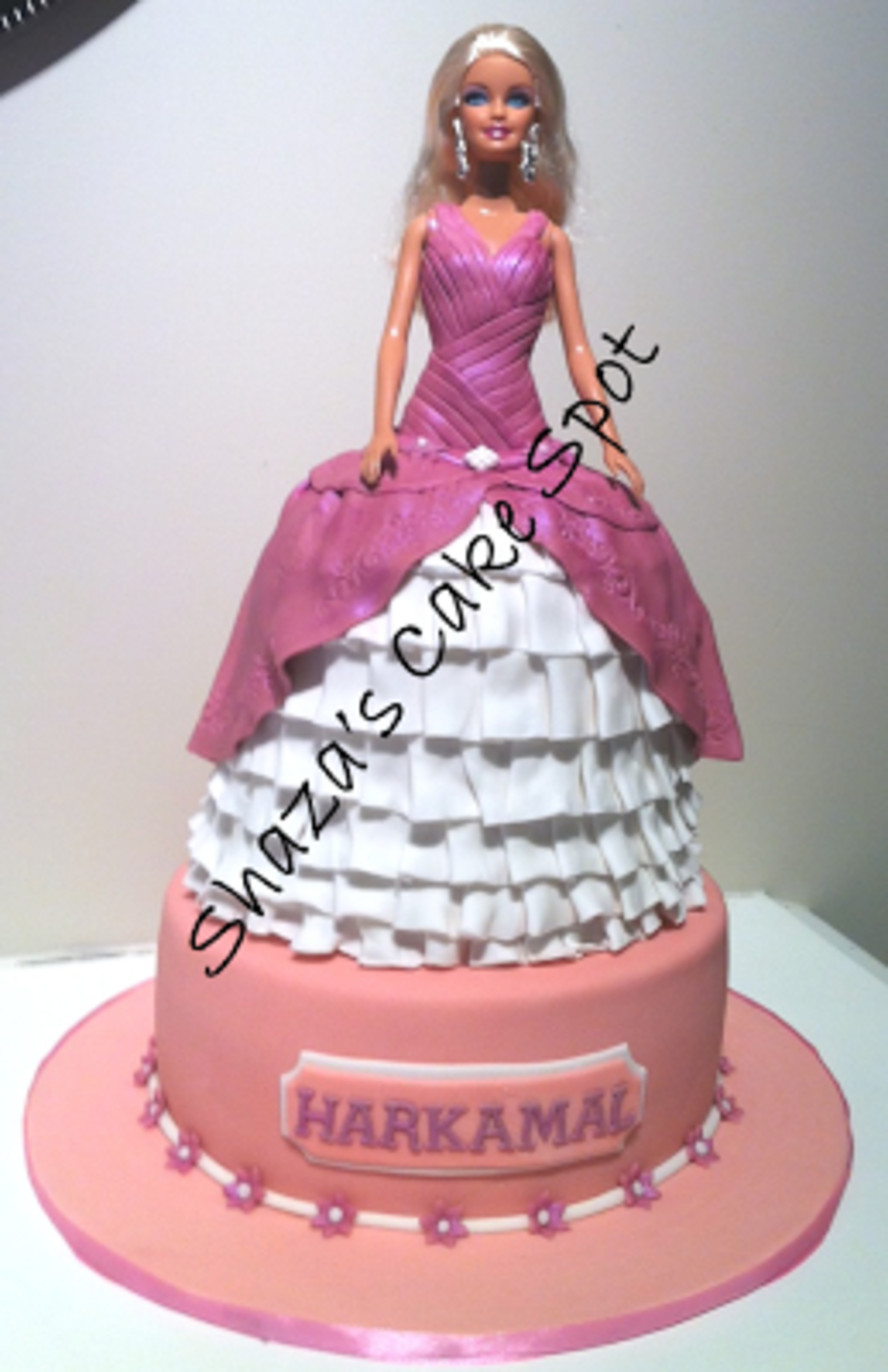 Barbie Doll Birthday Cake on Cake Central