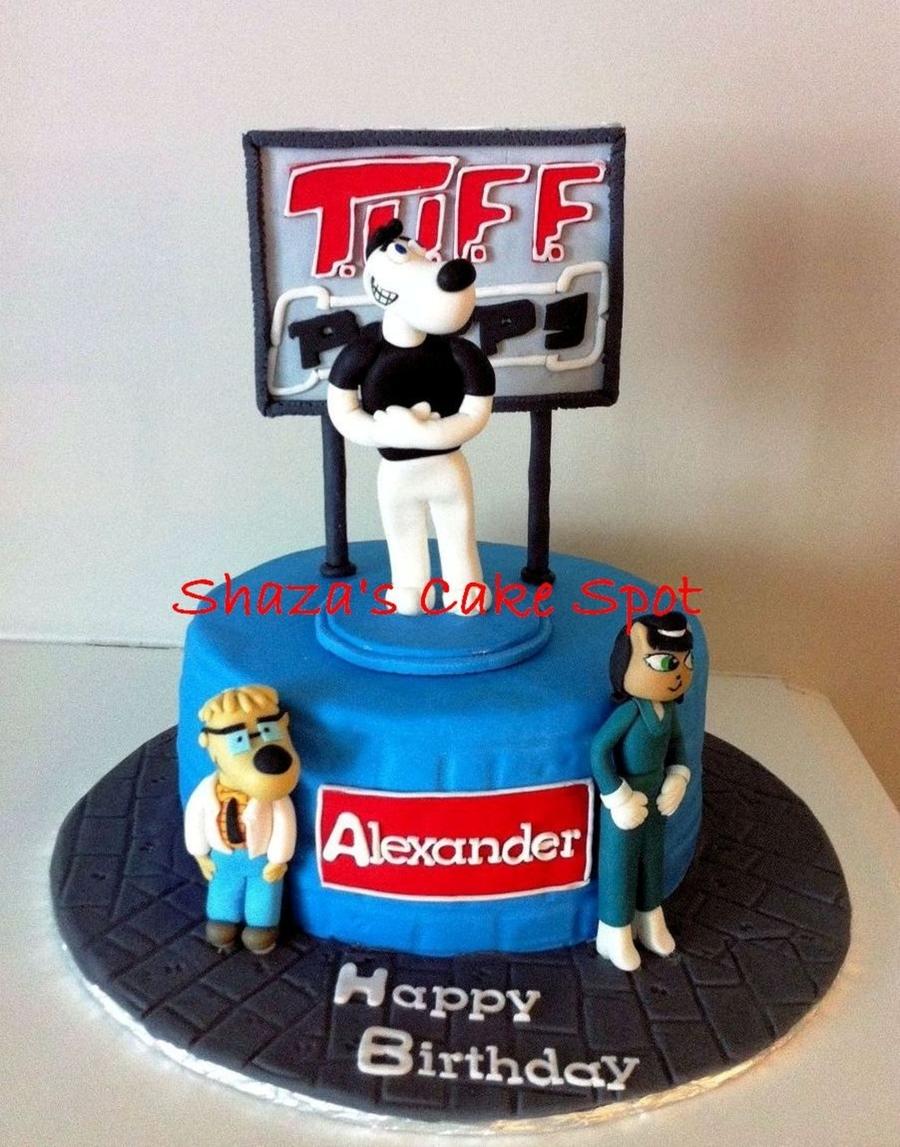 Brilliant Tuff Puppy Birthday Cake Cakecentral Com Funny Birthday Cards Online Necthendildamsfinfo