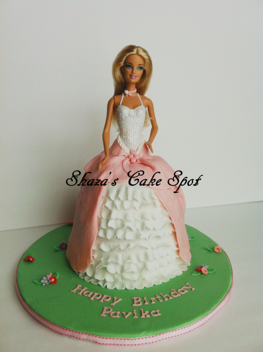 Princess Doll Cake Images : Barbie / Princess Doll Cake - CakeCentral.com