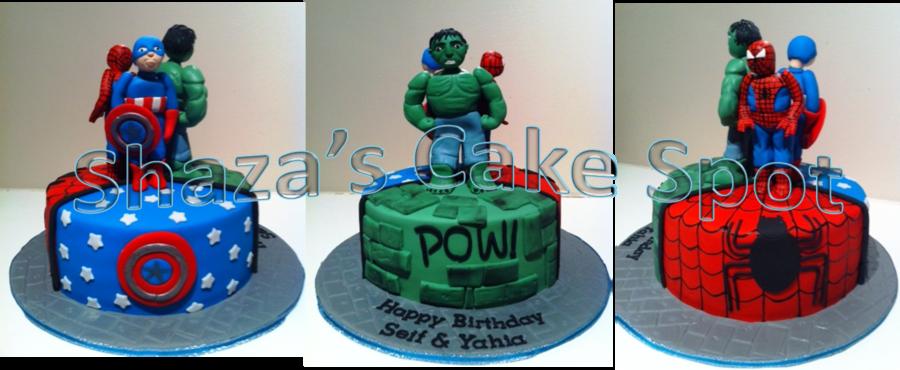 Power Avengers Birthday Cake CakeCentralcom