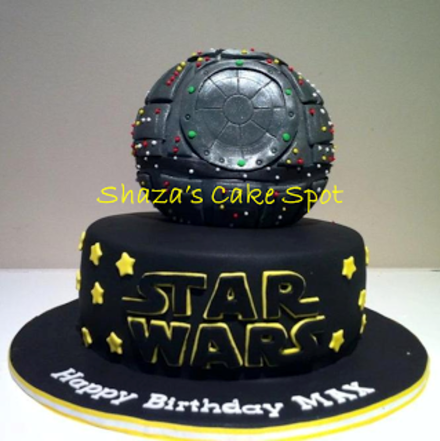 Death Star Star Wars Birthday Cake Cakecentral Com