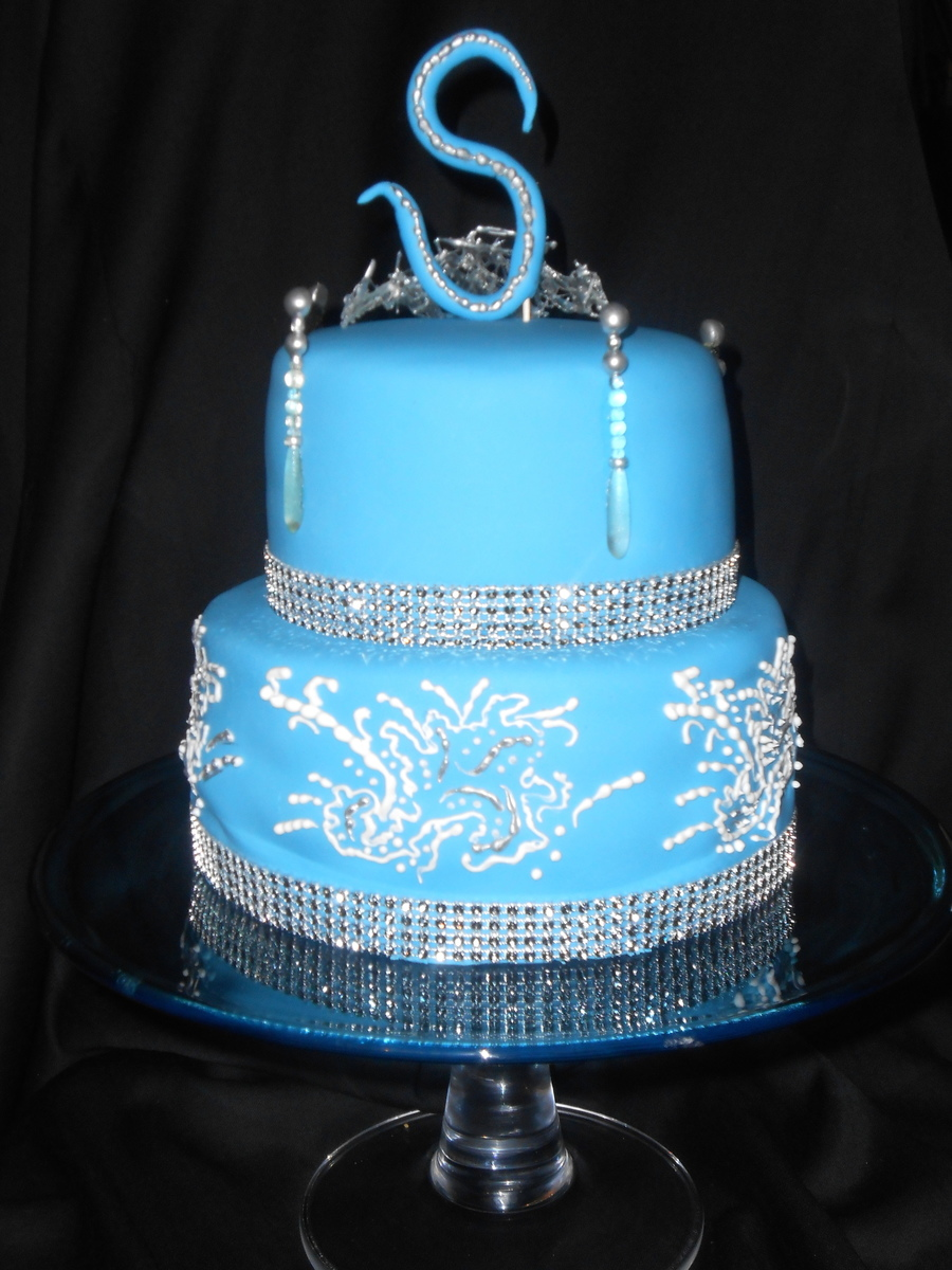 Just A Little Bling on Cake Central